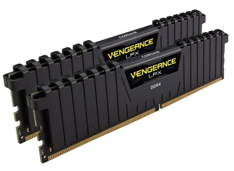 Corsair Vengeance LPX Black 32GB (2x16GB) 3600 MHz AMD Ryzen Tuned DDR4 Memory Dual Kit