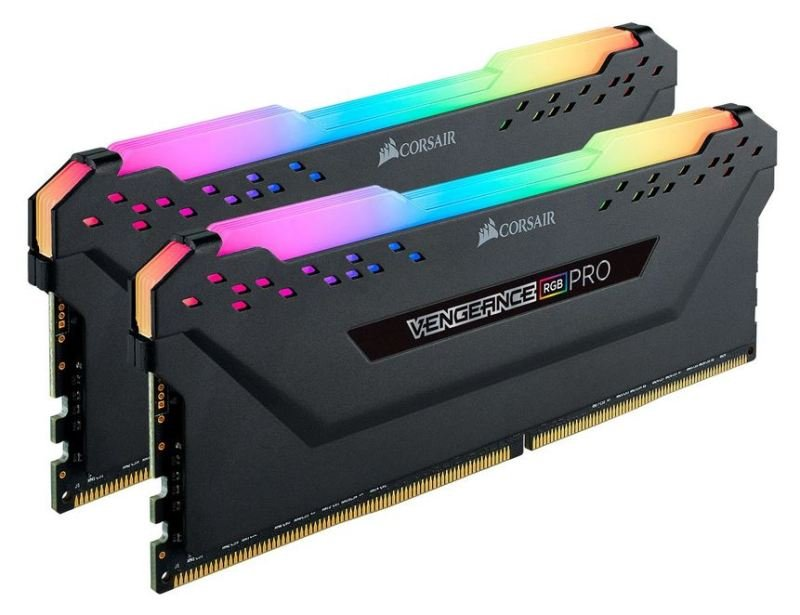 Corsair Vengeance RGB PRO Black 32GB 3600MHz AMD Ryzen Tuned DDR4 Memory Kit