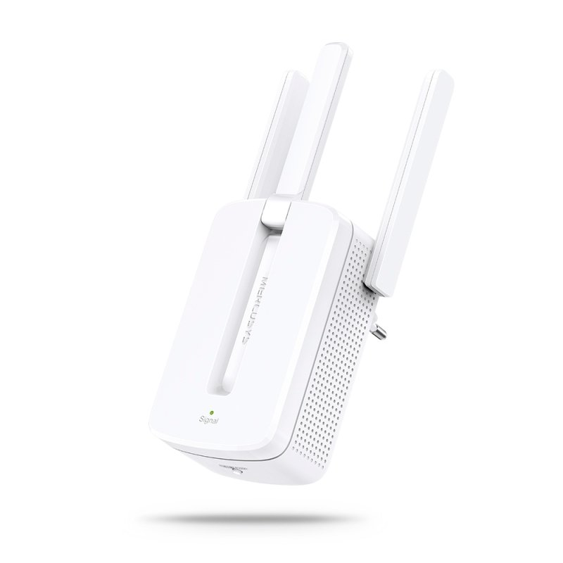 Mercusys by TP-Link - MW300RE 300Mbps Wi-Fi/ Broadband Range Extender, 3 External Antennas