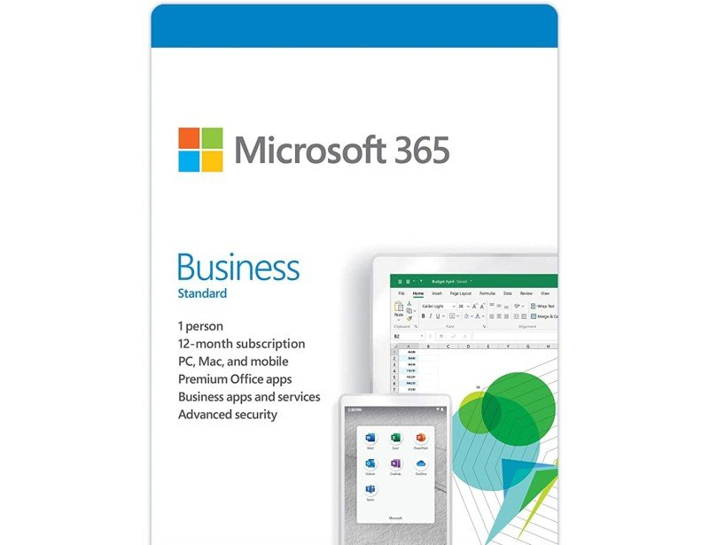 Microsoft 365 Business Standard - 12 Month Subscription