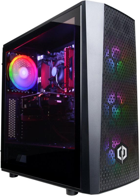 Image of Cyberpower Gaming Desktop PC, AMD Ryzen 7 3700X 3.6GHz, 16GB DDR4, 2TB HDD, 240GB SSD, NVidia RTX 2060 Super, Windows 10 Home, 3 Year Warranty