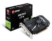 MSI GeForce GTX 1050 Ti AERO ITX 4G OCV1 Graphics Card