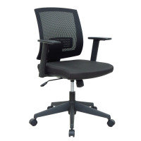Hardy - Mesh Back Operator Chair With Black Fabric Seat And Base
