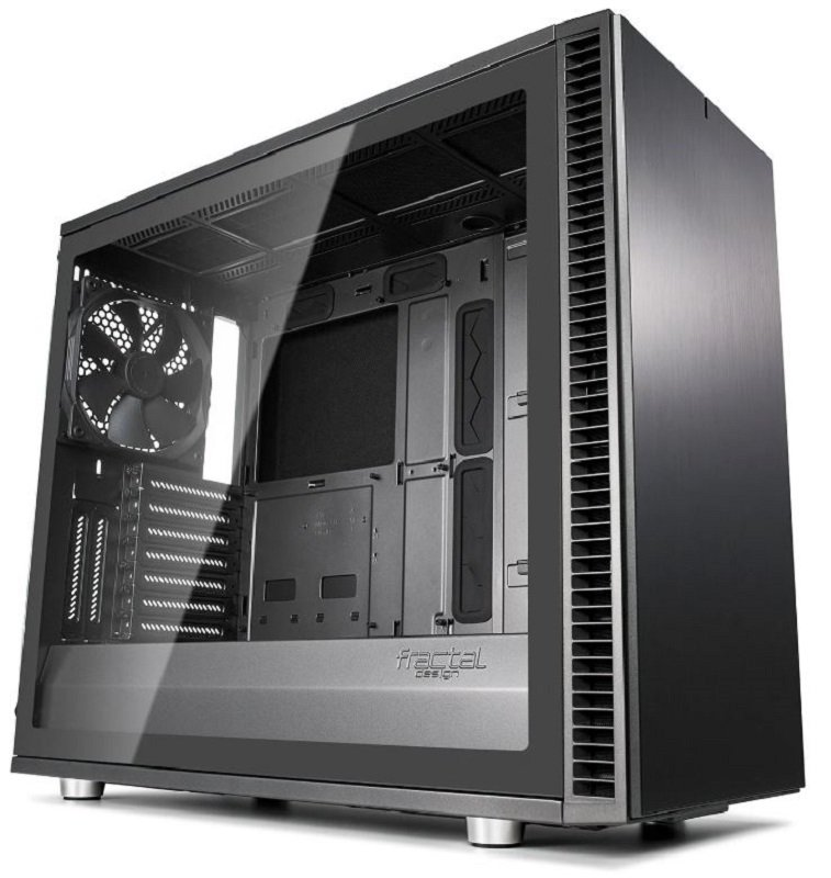 Image of Fractal Define S2 Grey Tempered Glass Midi PC Gaming Case
