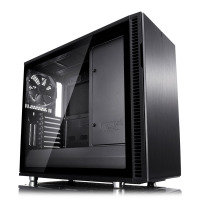 Fractal Define R6 Blackout Tempered Glass USB-C Midi PC Gaming Case