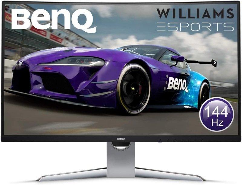 "BenQ EX3203R 31.5"" Curved 144Hz QHD LED Monitor"