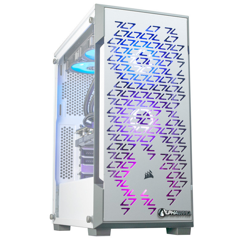 AlphaSync Core i5 10th Gen 16GB RAM 2TB HDD 240GB SSD RTX 2060 Super Gaming Desktop PC