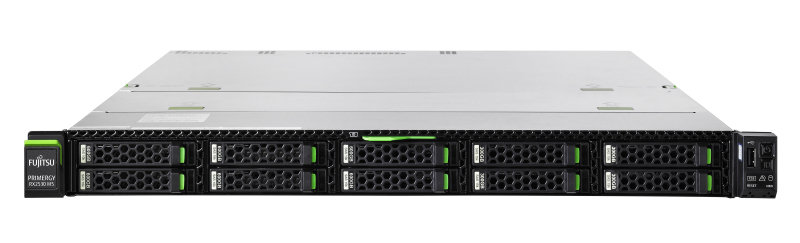 Fujitsu PRIMERGY RX1330 M4 - Rack-Mountable - 1U - Xeon E-2124 3.3 GHz - 16GB