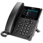 POLY VVX 350 Business IP Phone - Wired Handset - LCD - 6 Lines