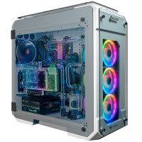 AlphaSync Water Cooled Ryzen 9 3950X 64GB RAM 4TB HDD 1TB SSD RTX 2080 Super Gaming Desktop PC