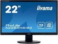 """Iiyama X2283HS-B3 22"""" LCD Full HD LED VA Monitor"""