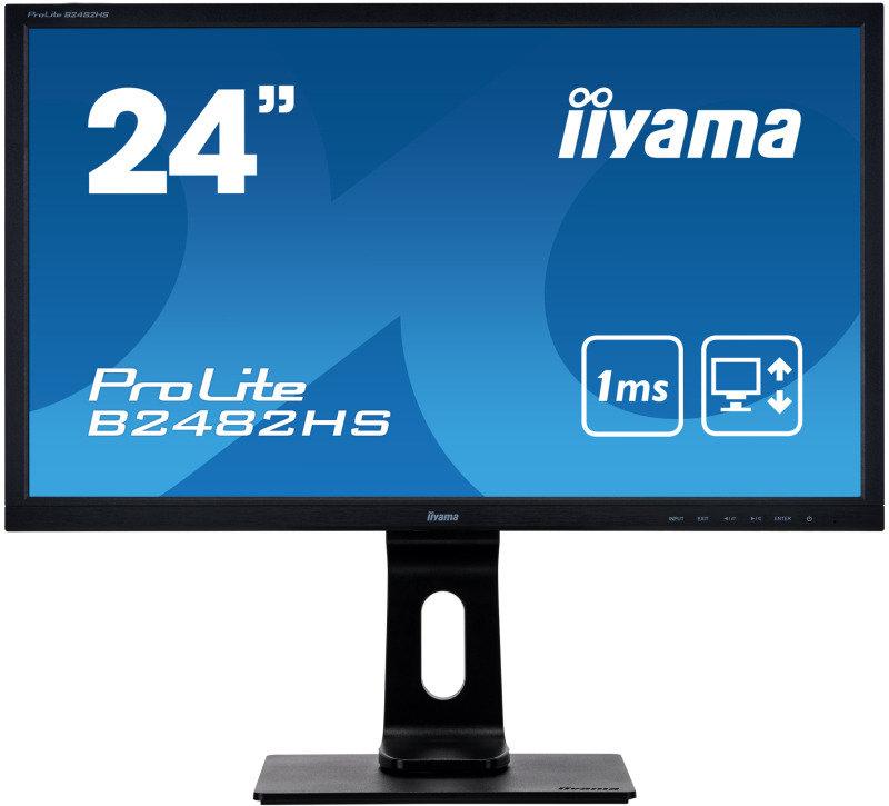 "Iiyama ProLite B2482HS-B5 24"" Full HD Monitor"