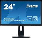 "Iiyama XB2483HSU-B3 24"" ProLite Height Adjustable AMVA HD LED Monitor"