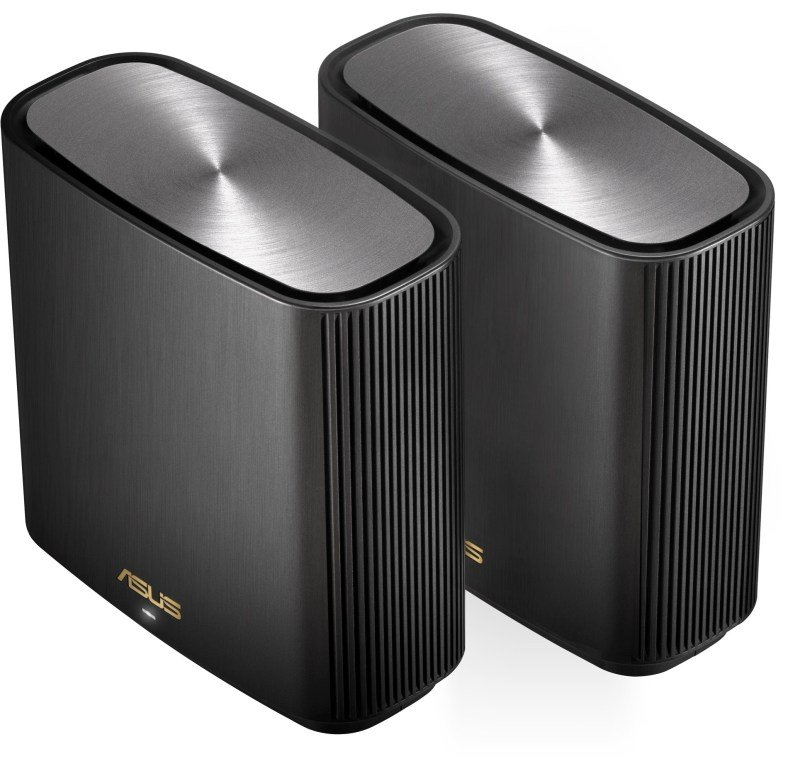 ASUS ZenWiFi AX Whole-Home Tri-Band Mesh WiFi 6 System (XT8) - Black 2 PACK