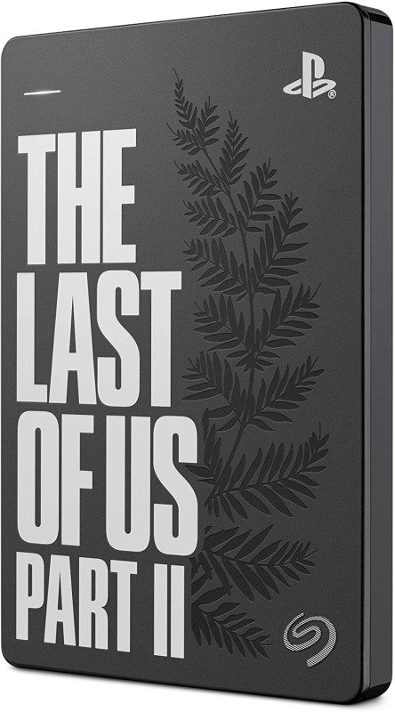 Seagate 2TB External Portable Hard Drive -  The Last of Us Part II Special Edition