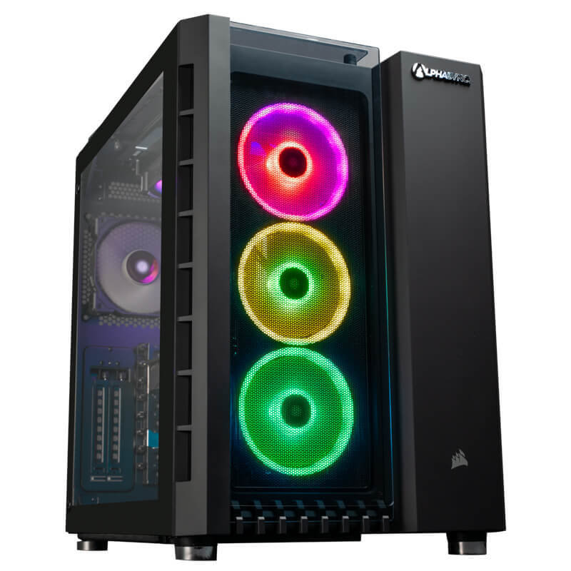 AlphaSync Core i9 9th Gen 32GB RAM 4TB HDD 500GB SSD RTX 2080Ti Water Cooled Gaming Desktop PC