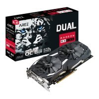 EXDISPLAY ASUS Radeon RX 580 AREZ 8GB DUAL OC Graphics Card