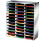 EXDISPLAY Fellowes A4 Literature Sorter - 36 Compartments