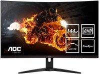 """AOC CQ32G1 31.5"""" Curved VA LCD QHD FreeSync 144Hz Gaming Monitor"""