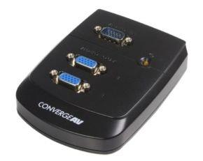 StarTech.com 2 Port Wall Mount VGA Video Splitter