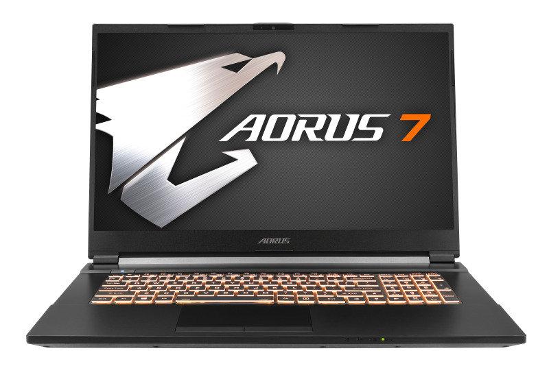 "Image of Aorus 7 Core i7 16GB 512GB SSD 1TB HDD GTX 1660Ti 17.3"" Win10 Home Gaming Laptop"