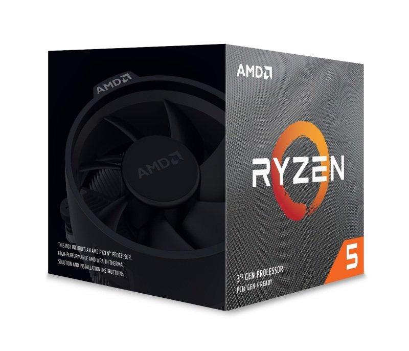 AMD Ryzen 5 3600XT AM4 CPU/ Processor with Wraith Spire Cooler