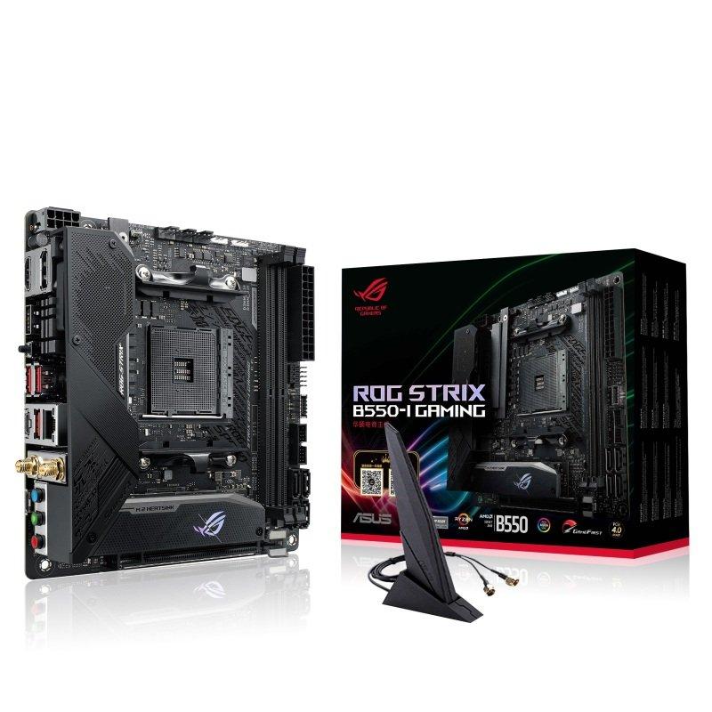 ASUS ROG STRIX B550-I GAMING mITX Motherboard