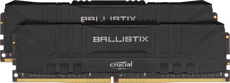 Crucial Ballistix 3200Mhz 16GB (2x8GB) Gaming Memory Black
