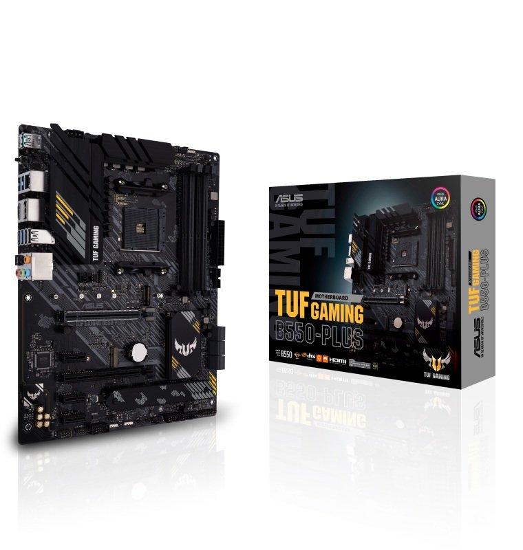 ASUS TUF GAMING B550-PLUS DDR4 ATX Motherboard