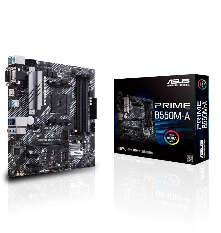 ASUS PRIME B550M-A DDR4 mATX Motherboard