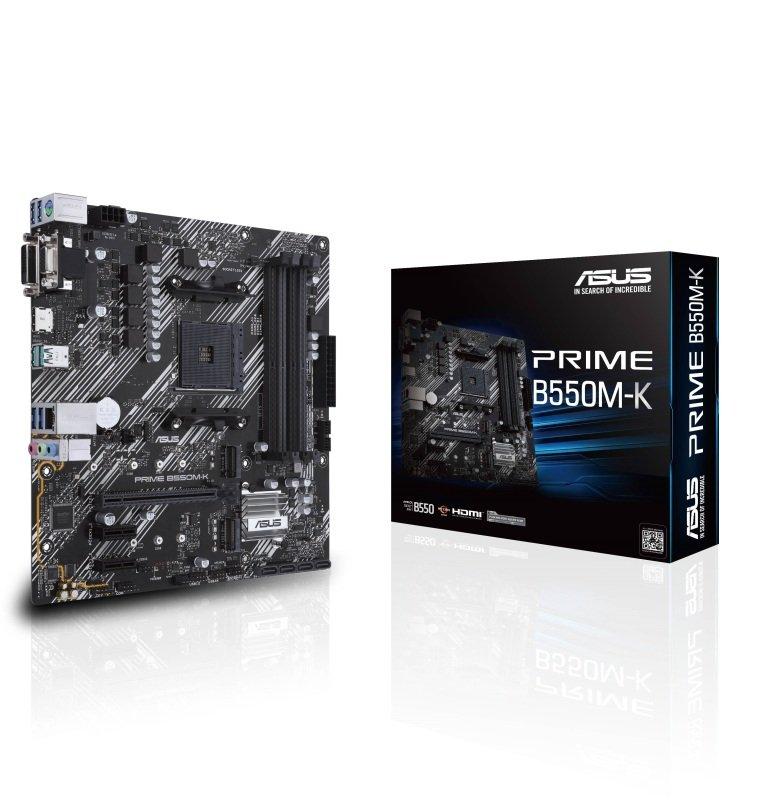 ASUS PRIME B550M-K DDR4 mATX Motherboard