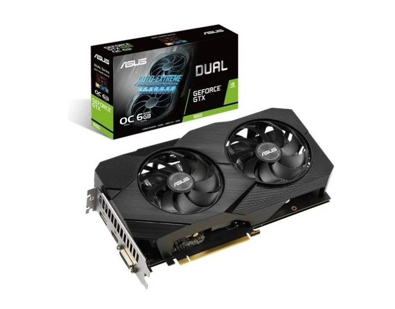 Asus GeForce GTX 1660 DUAL OC EVO 6GB Graphics Card