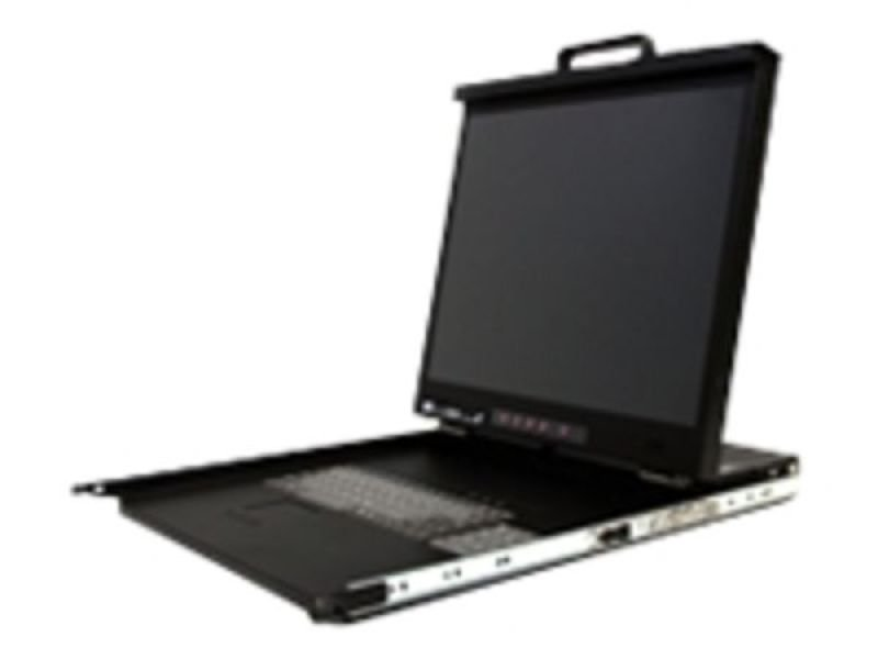 Startech 1u 20in High Resolution Rack Mount for 19&quot Rack