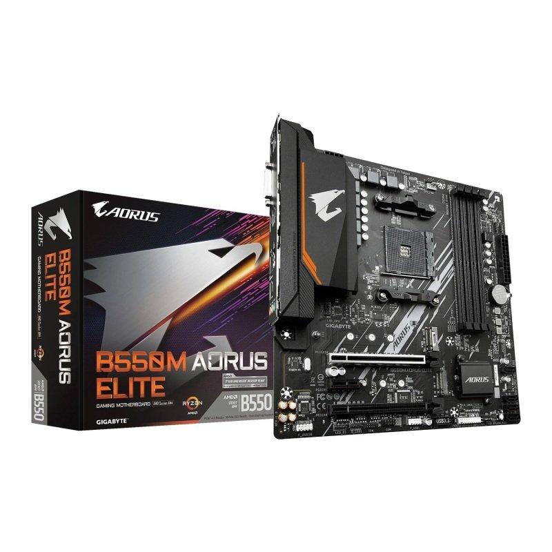Gigabyte AMD B550M AORUS ELITE AM4 mATX Motherboard