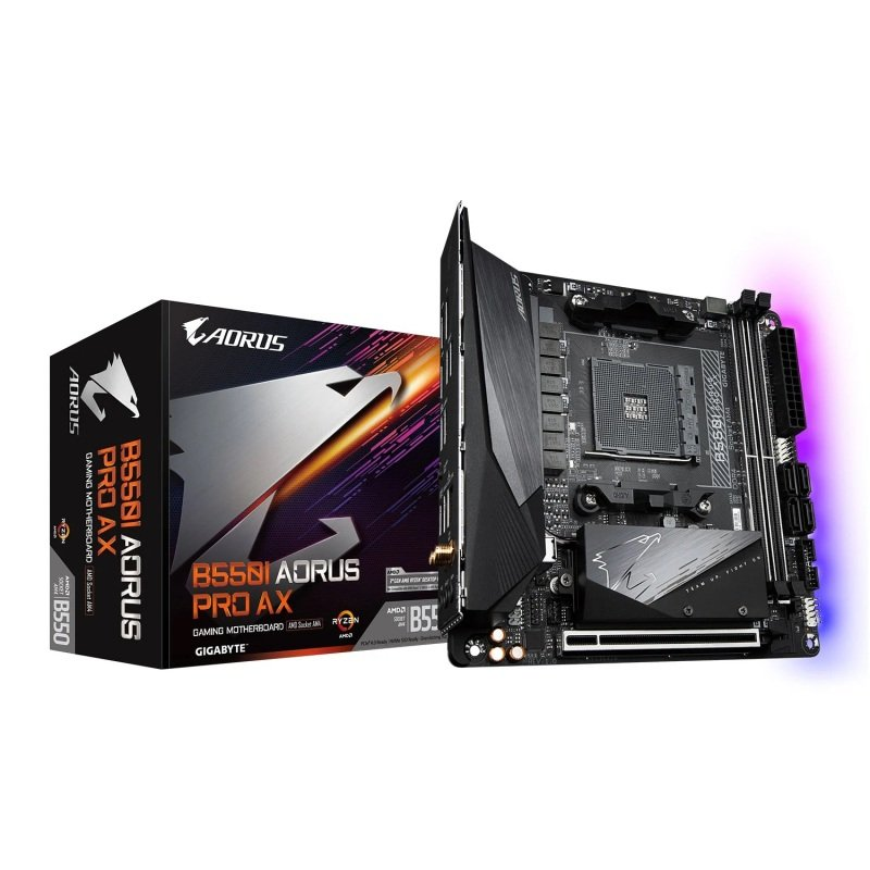 Gigabyte AMD B550I AORUS PRO AX Mini-ITX Motherboard