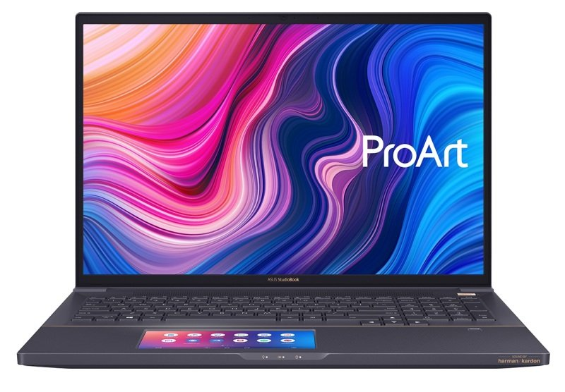"ASUS ProArt StudioBook Pro X Xeon E-2276M 64GB 4TB SSD RTX 5000 17"" Win10 Pro Studio Laptop"