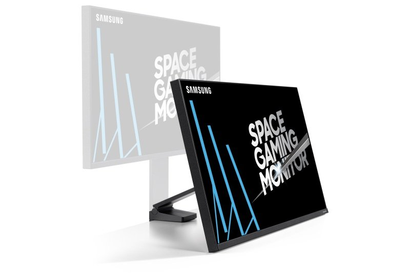 "EXDISPLAY Samsung S32R750Q 32"" Space-saving 144Hz Gaming monitor with minimalist design"
