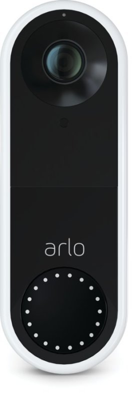 Arlo Wired Smart Video Doorbell - Works with Alexa and Google Assistant