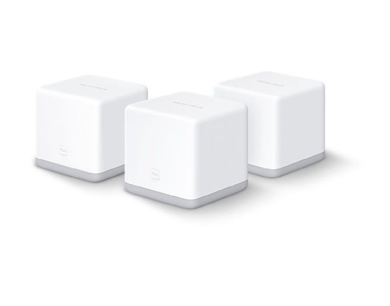Mercusys by TP-Link - Halo S3(3-Pack) 300Mbps Whole Home Mesh Wi-Fi System