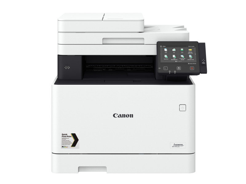 Canon i-SENSYS MF744Cdw A4 Colour Multifunction Laser Printer