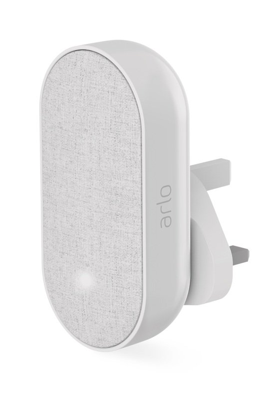 Image of Arlo AC1001 Smart Chime - Wire-Free, Smart Home Security, Siren and Silent Mode