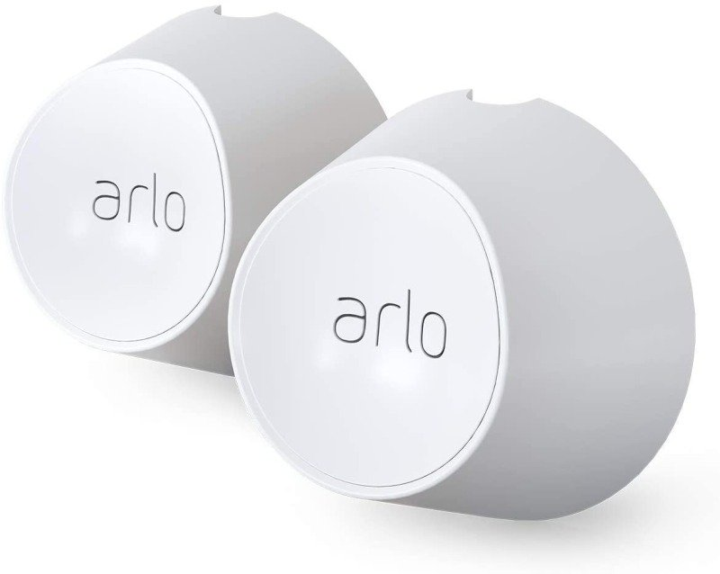 Arlo VMA5000 Accessory Magnetic Wall Mounts, White, Set of 2, Indoor/Outdoor, Compatible with Arlo Ultra and Pro3 Only, (Official)