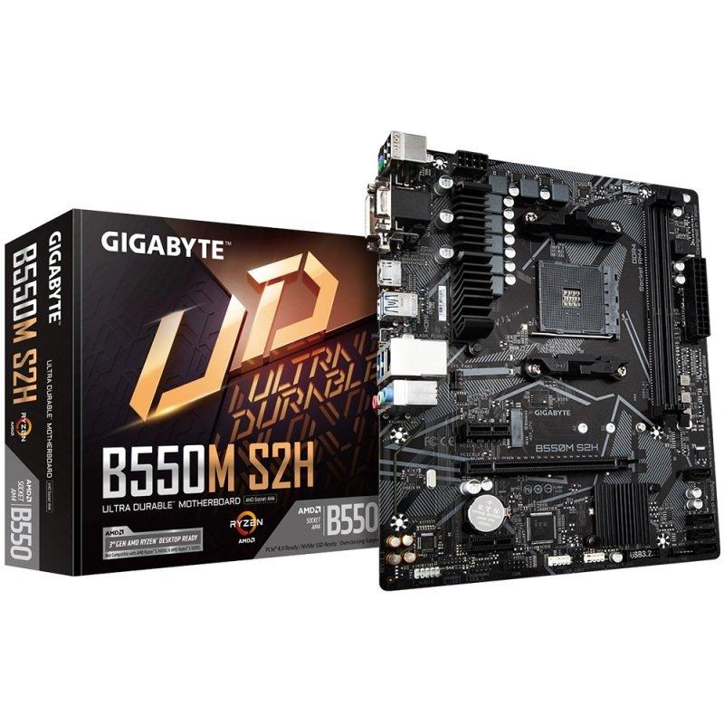 Gigabyte B550M S2H DDR4 Micro ATX Motherboard