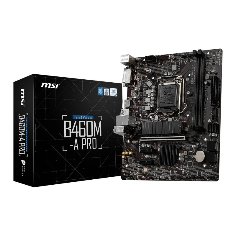 MSI Intel B460M-A PRO Micro-ATX Motherboard