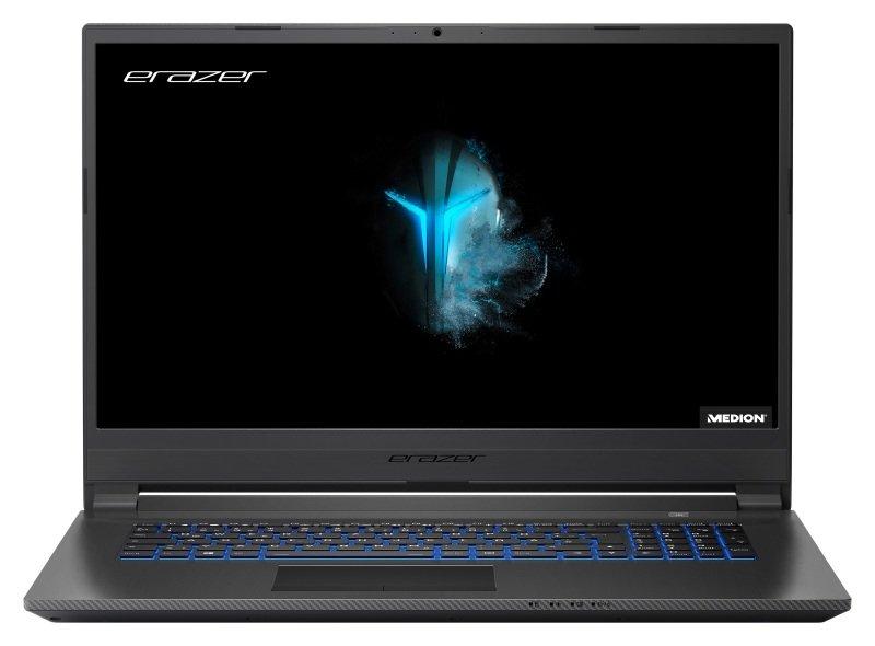 "Medion Erazer P17613 Core i5 8GB 256GB SSD 1TB HDD GTX 1650 17.3"" Win10 Home Gaming Laptop"