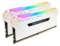 Corsair Vengeance RGB PRO White 32GB 3200 MHz DDR4 Dual Channel Memory Kit