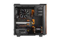 EXDISPLAY BeQuiet Silent Base 600 Gaming Case Orange with Window