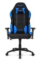 AKRacing Core Series EX-Wide Gaming Chair (Black, Blue)