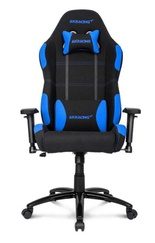 AKRacing Core Series EX-Wide Gaming Chair (Black, Blue)