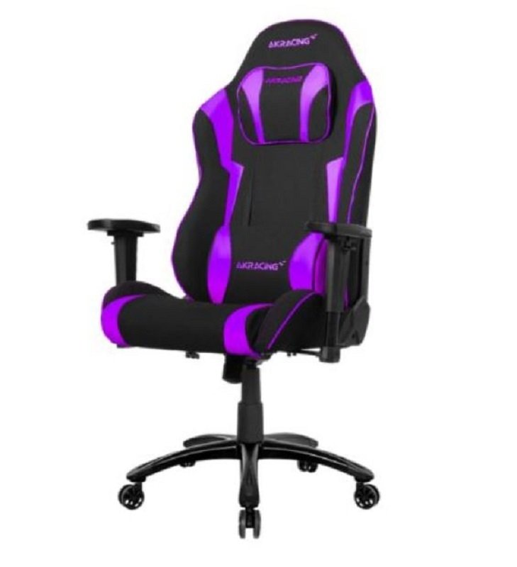 Image of AKRacing Core Series EX-Wide Gaming Chair, Black/Indigo, 5/10 Year Warranty